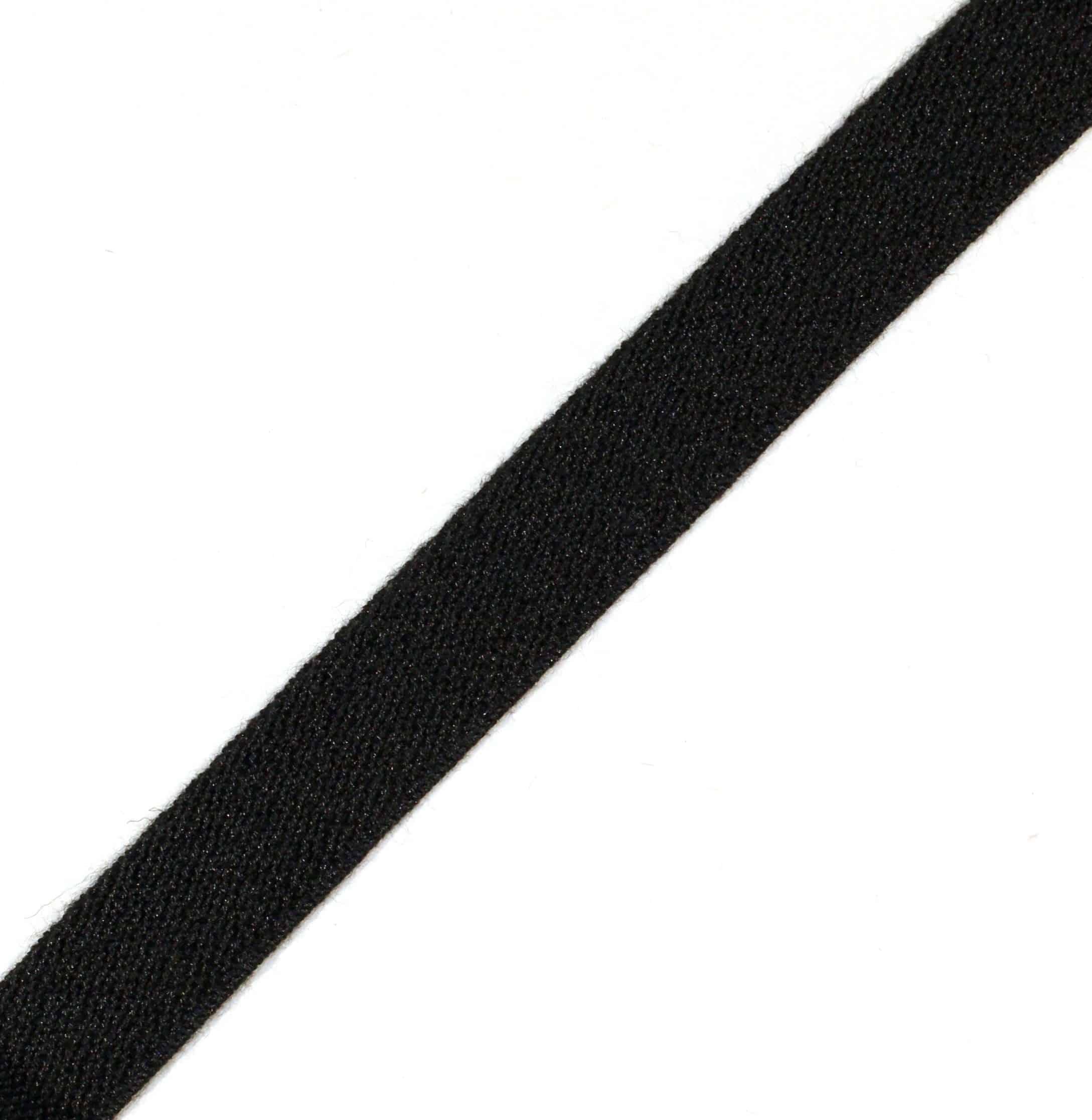 3/4″ Black PBI®/Kevlar® Elastic Webbing