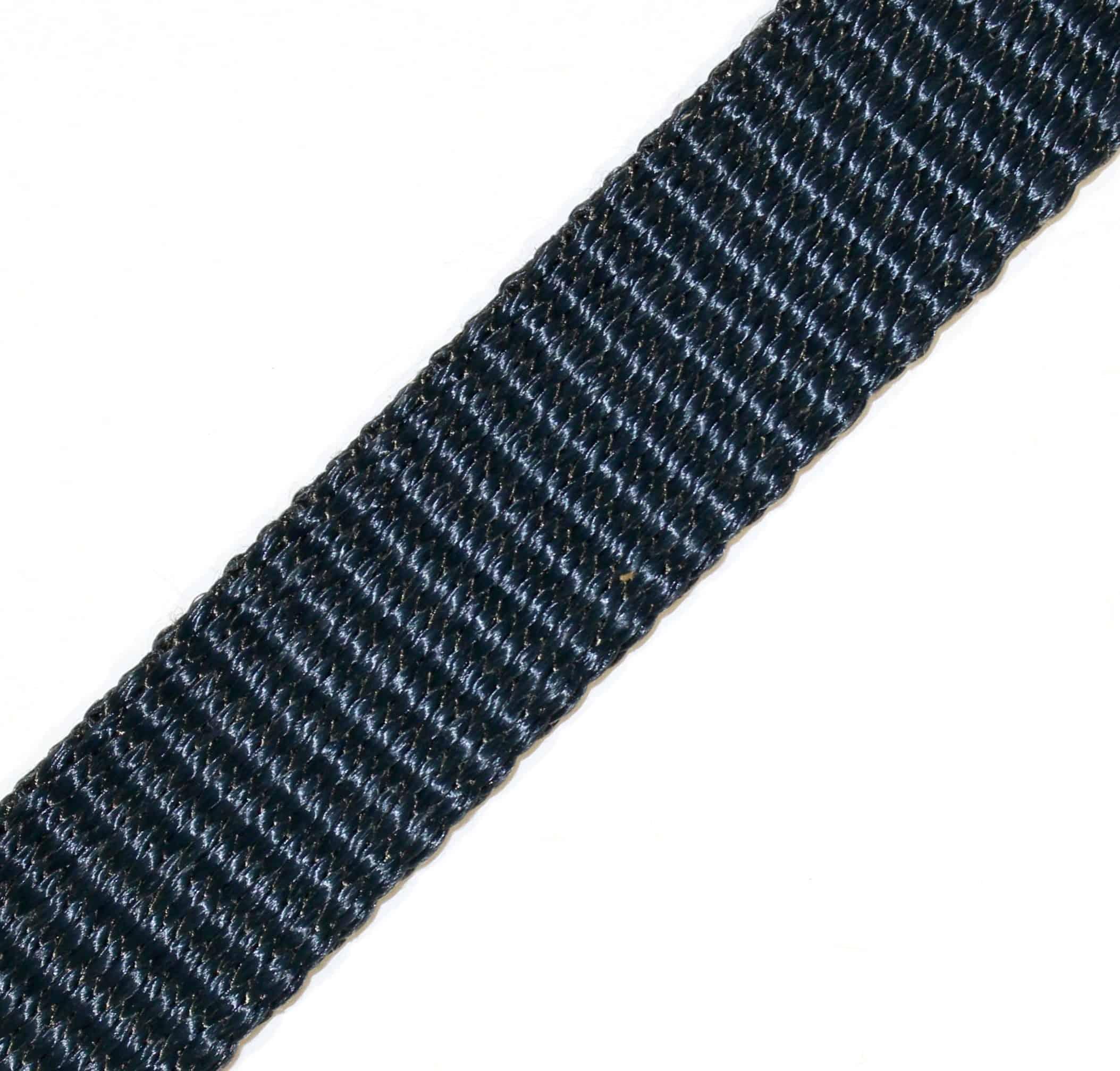 1″ Black Kevlar® Webbing