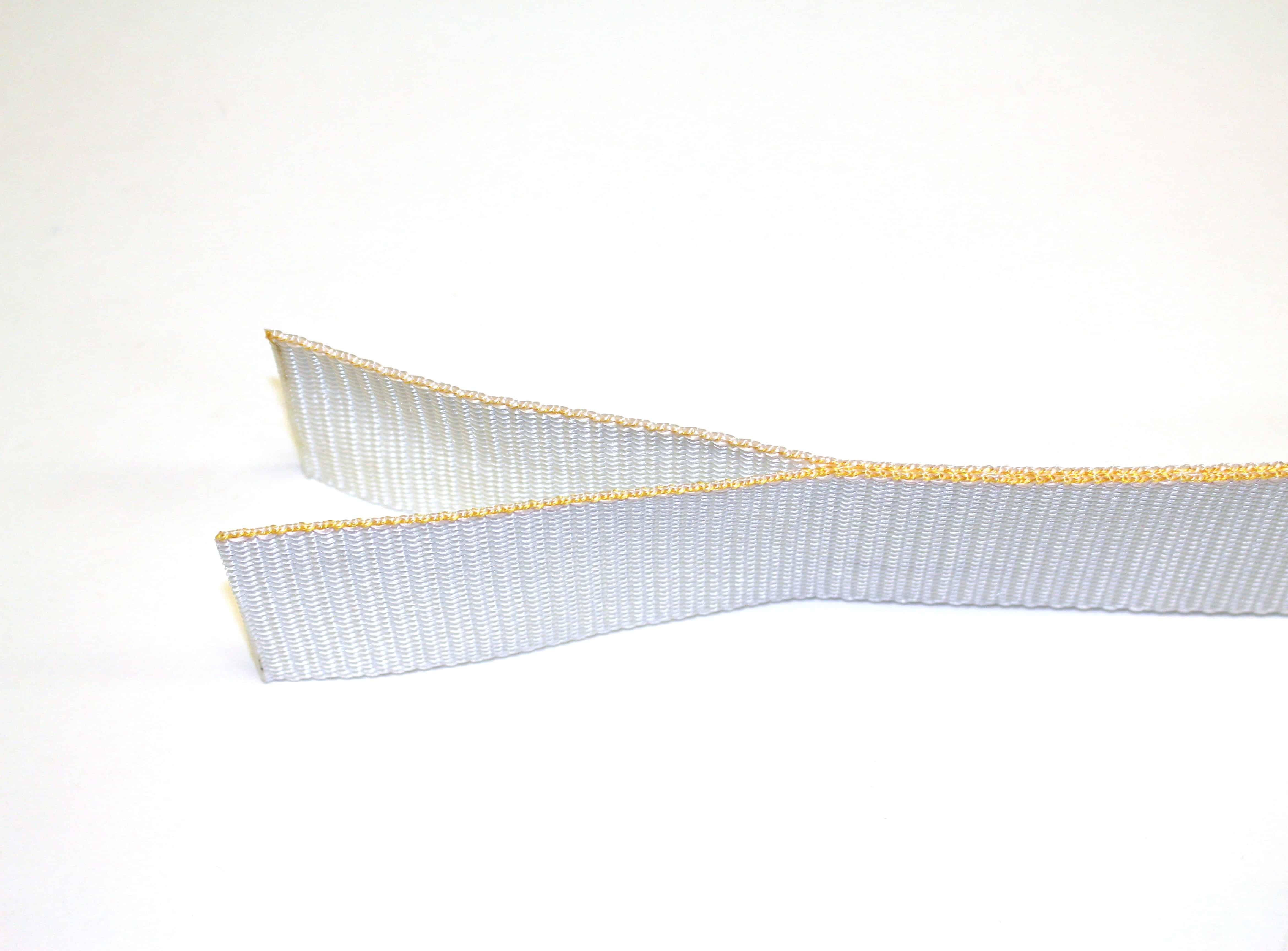 ANSI Z359.13 6FT FF; 1.95″ Single Wing Natural Polyester Tear Webbing w/ Cut Bar