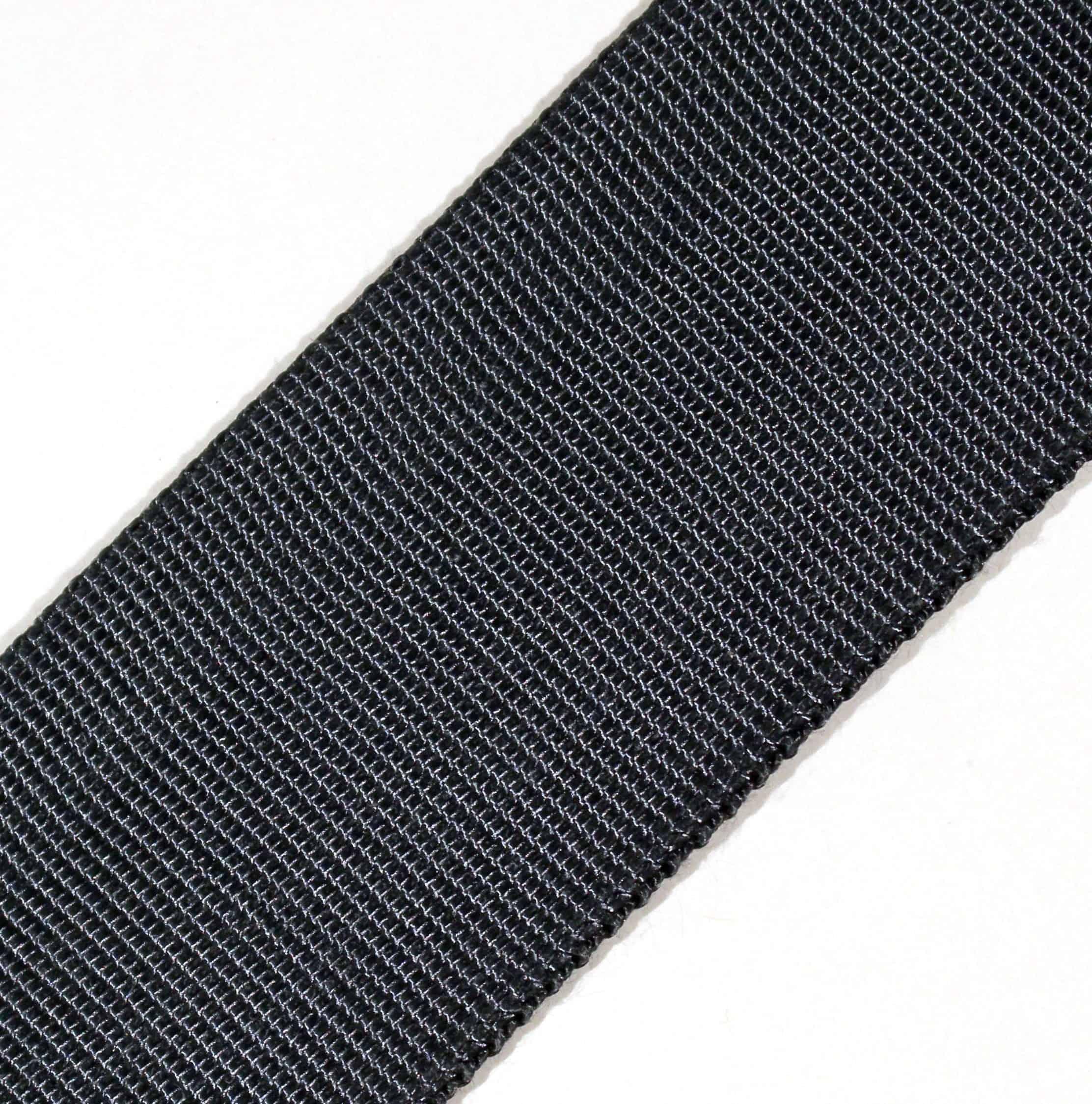 2.10″ Black Kevlar® Tubular Webbing