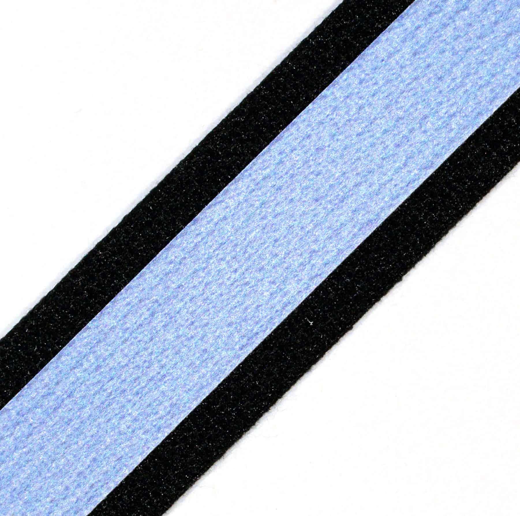 1-3/4″ Reflective Black Kevlar® Webbing with Orange Nomex® back