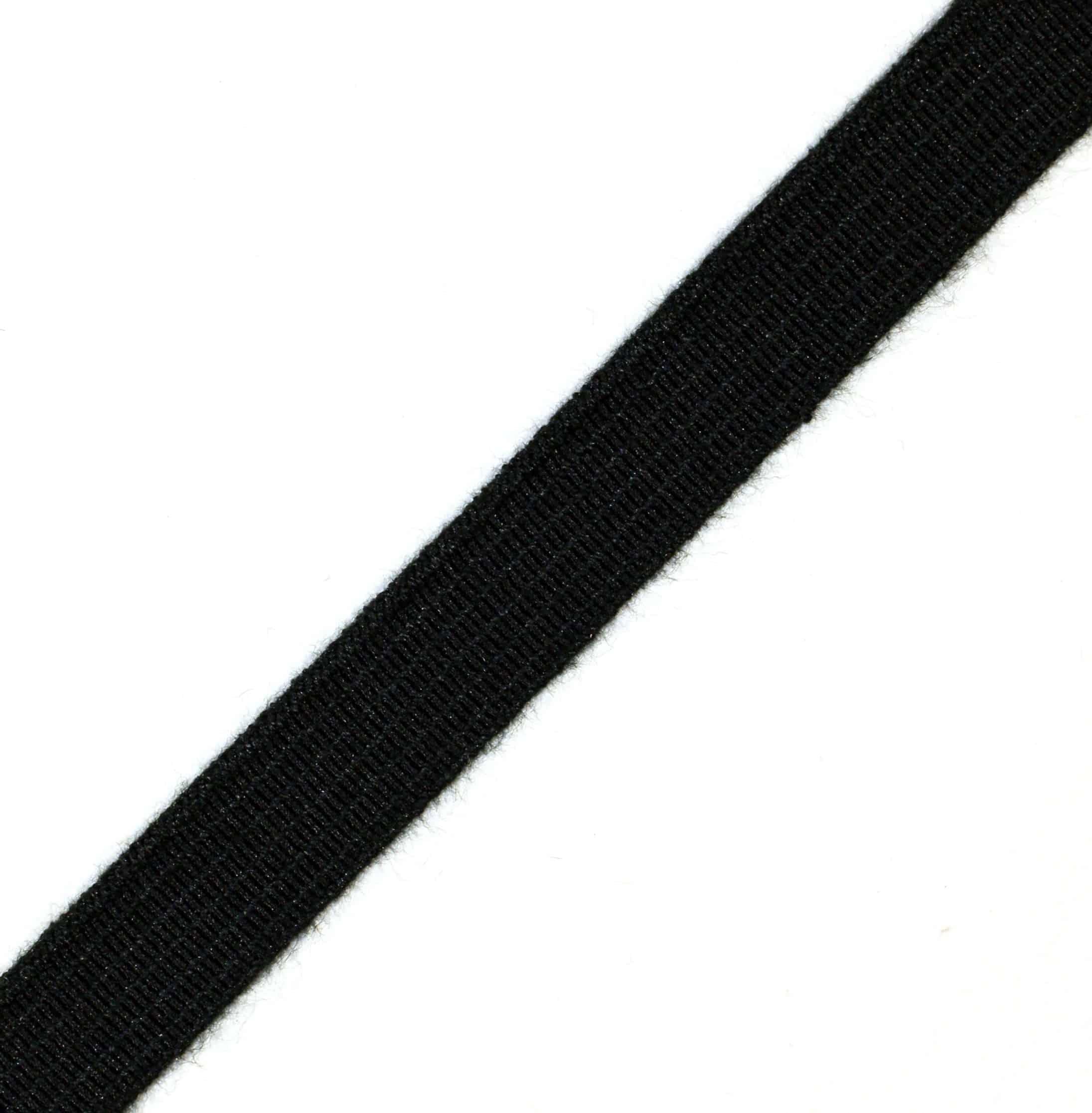 """1-1/2"""" Black Nomex® Elastic Webbing"""