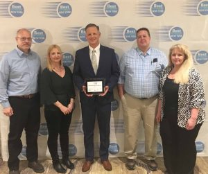Sturges Manufacturing Co., Inc. was honored as one of 2019's Best Places to Work in a ceremony in 2019.